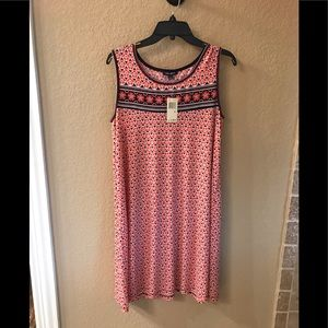 Max Edition A-line sleeveless dress new w/tags